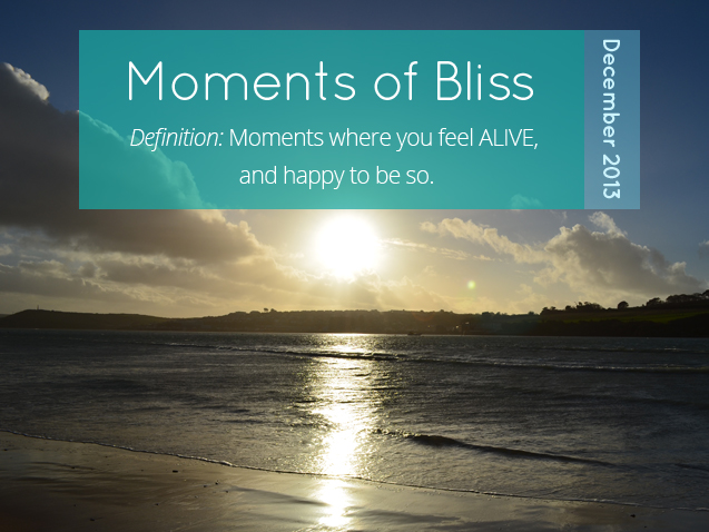 Moments of Bliss December 2013
